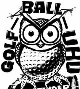 Golfball-Uhu Support-Mitarbeiter