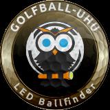 Golfball-Uhu LED Ballfinder_Logo_braun_160Pixel